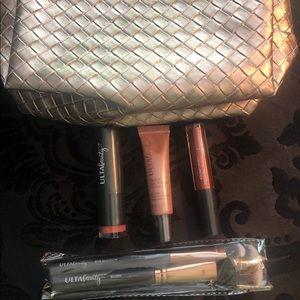 Ulta Brand Cosmetic Bag and Makeup